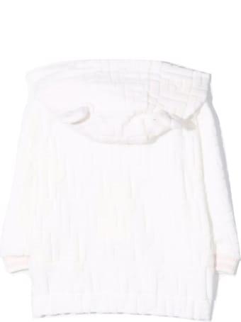 Fendi White Cotton Blend Jumper