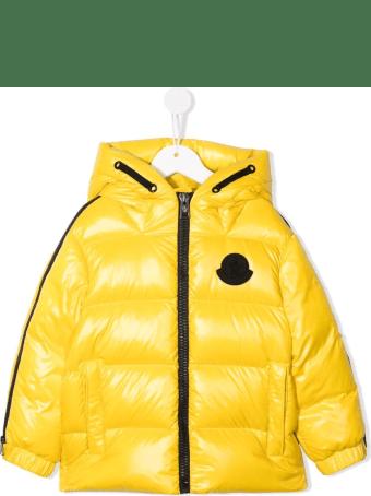 Moncler Kids Yellow Idila Down Jacket