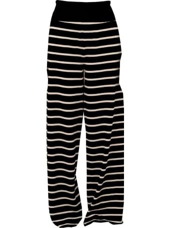 Archiviob Friged Stripes Wide Leg Pants