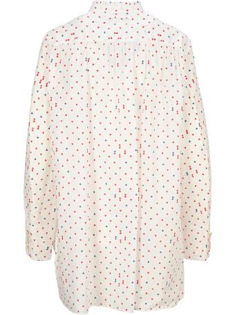 Undercover Jun Takahashi Undercover Shirt Dress Pois