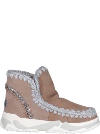 Mou Back Chain Eskimo Trainer Sneakers