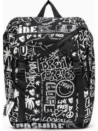 Golden Goose Deluxe Brand Journey Backpack Gma00147.a000234