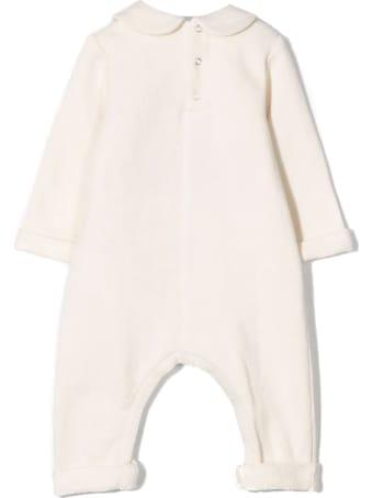 Gucci White Cotton Romper