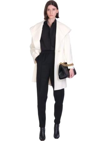 Tagliatore 0205 Chelsey Coat In White Wool