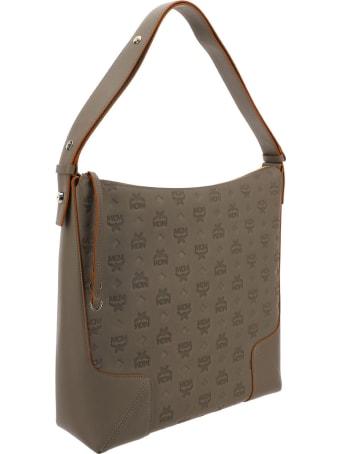 MCM Klara Monogrammed Hobo Large Bag