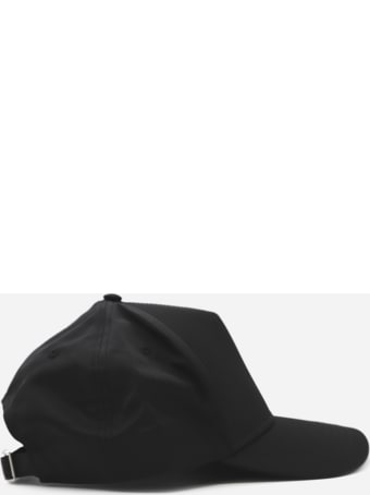 Dsquared2 Technical Fabric Hat With Contrasting Logo Patch