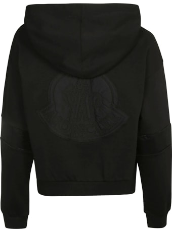 Moncler Distress Effect Patterned Sweater