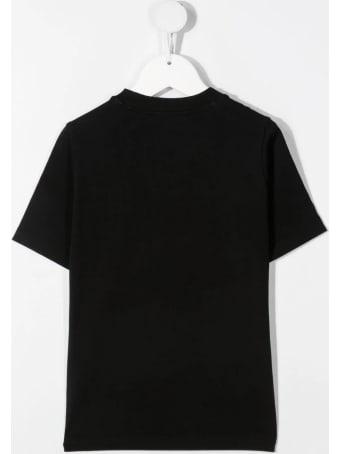 Dsquared2 Black D2kids Boxer Logo T-shirt