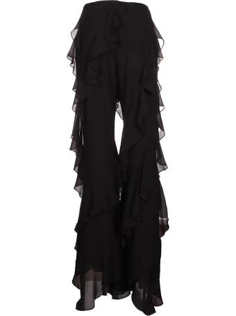 16arlington Valencia Ruffle Trousers