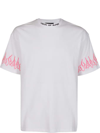 Vision of Super White Cotton T-shirt