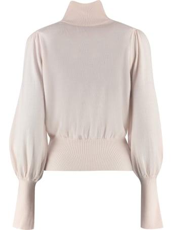 Zimmermann Turtleneck Merino Wool Sweater