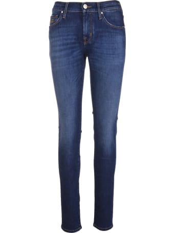 Jacob Cohen Woman Dark Blue Kimberly Skinny Jeans