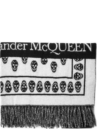 Alexander McQueen Skull On Skull Scarf