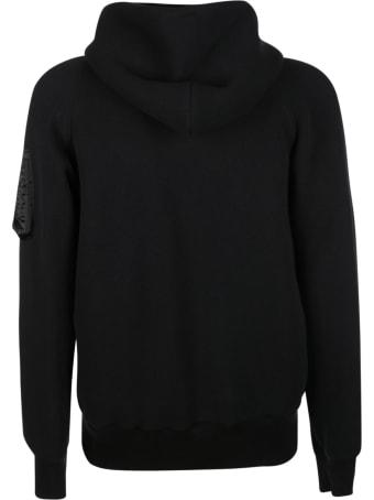 Sacai Sleeve Pocket Zip Hoodie