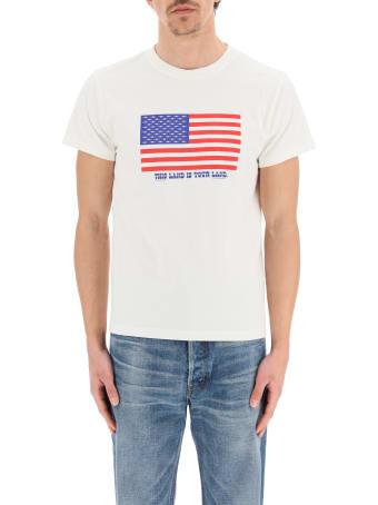 Phipps Flag Print T-shirt