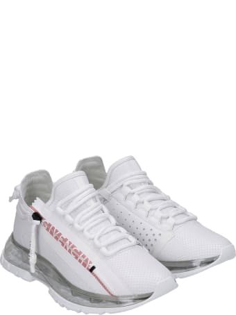 Givenchy Spectre  Sneakers In White Leather