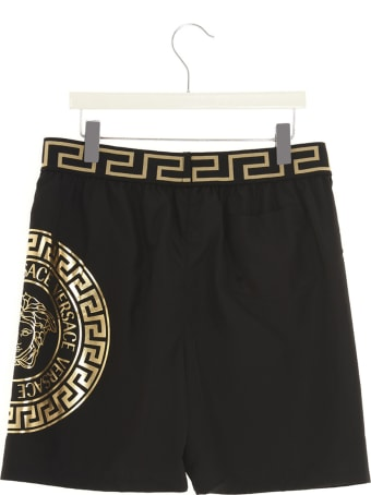 Young Versace Logo Swimshorts