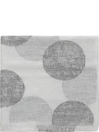 Kangra Linen Polka Dots Scarf