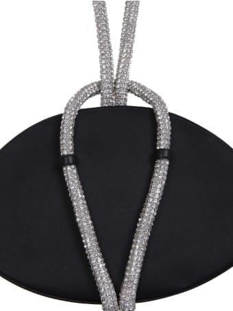 Kara Knot Crystal Clutch