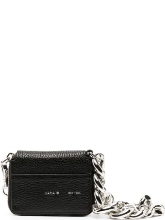 Kara Crossbody Wallet In Hammered Leather