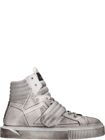 Gienchi Hypnos Sneakers In White Canvas