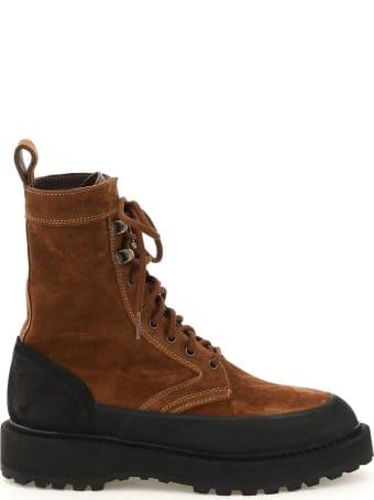 Diemme Altivole Suede Leather Lace-up Boots