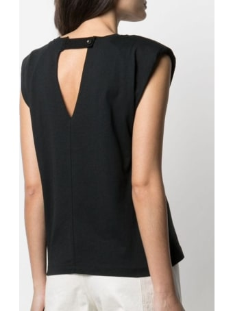 Tela Jersey T-shirt With Back Neckline