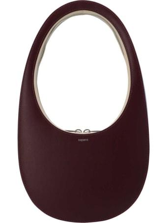 Coperni Swipe Tricolor Leather Handbag