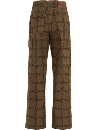 J.W. Anderson Cargo Logo Pants