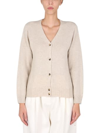 Margaret Howell Cardigan With Mother Of Pearl Buttons