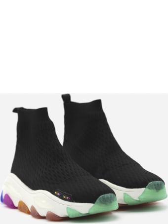 Kurt Geiger Fabric Lettie Sock Sneakers
