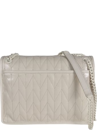 Miu Miu Patterned Flap Shoulder Bag