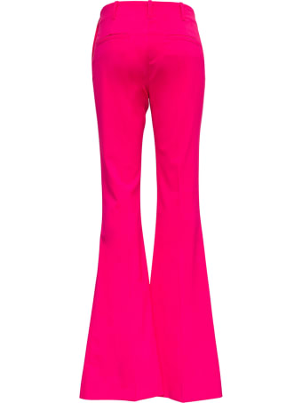 Jacquemus Le Pantalon Pinu Wool Blend Pink Trousers