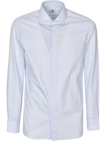 Luigi Borrelli Fabio Check Long-sleeved Shirt