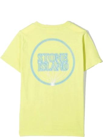 Stone Island Green Cotton T-shirt