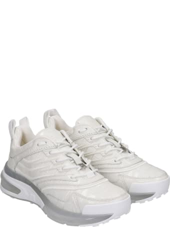Givenchy Giv 1 Sneakers In White Synthetic Fibers
