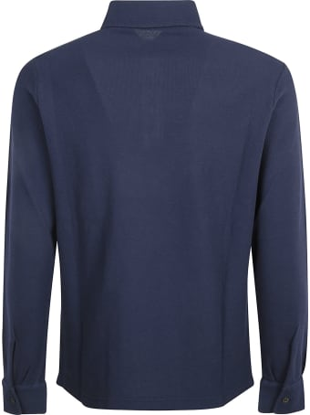 Loro Piana Pique Huck Lace Polo Shirt
