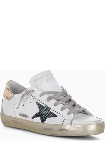 Golden Goose Women's Super-star Sneakers With Printed Star