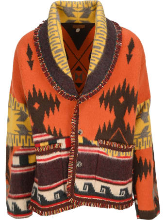 Alanui Over The Andes Knitted Cardigan