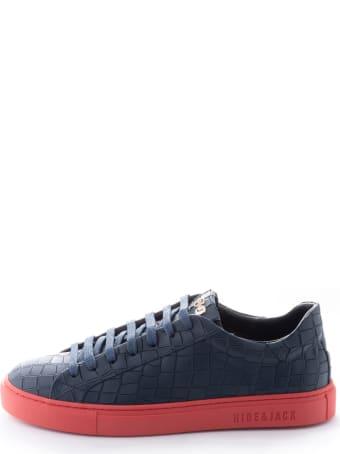 Hide&Jack Essence Blue Red Sneakers
