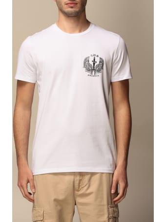 Paciotti 4US T-shirt Paciotti 4us T-shirt With Mini Logo