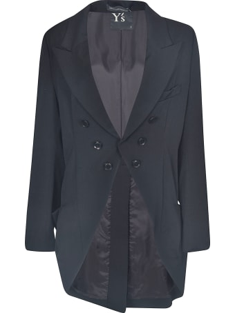 Y's Double-breasted Oversize Blazer