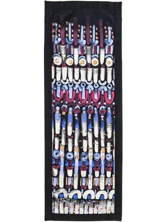 Le Botteghe su Gologone Tapestries Handpainted Colores 50x145 Cm