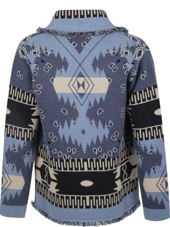 Alanui Dream Big Icon Bandana Cardigan