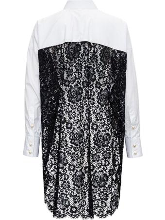 Dolce & Gabbana Oversized White Cotton Poplin Shirt