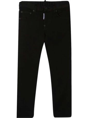 Dsquared2 Straight Jeans With Application