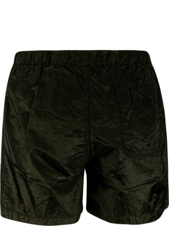 Stone Island Logo Patch Drawstring Boxer Shorts