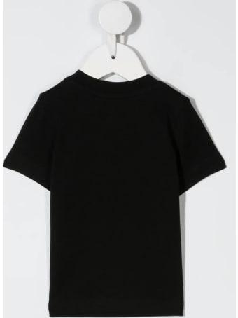 Dsquared2 Newborn Black D2kids Colored T-shirt