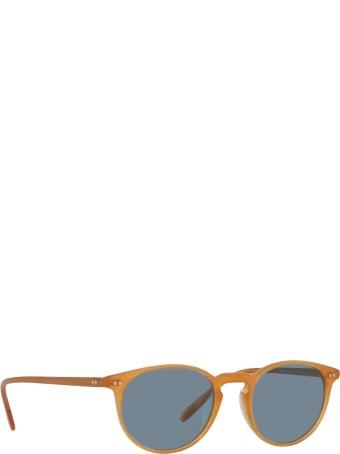 Oliver Peoples Oliver Peoples Ov5004su Semi Matte Amber Tortoise Sunglasses