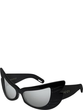 Gucci Gucci Gg0710s Black Sunglasses